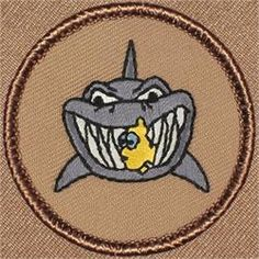 Shark Bait Patrol Patch (#261)