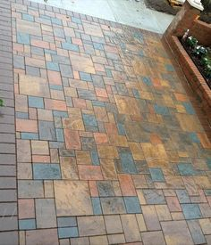 Stone Creations of Long Island Pavers and Masonry Corp, Deer Park N.Y 11729 Patio Under Decks, Back Patio, Landscape Walls, Landscape Design, Paver Walkway, Walkways, Outside Tiles, Masonry Construction, Paver Blocks