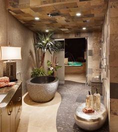 How To Give Your Bathroom A Spa-Like Feel - perfect environment to create without using spa equipment