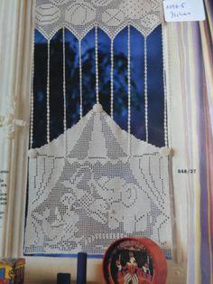 Die 38 Besten Bilder Von Häkeln Gardine Crochet Curtains Filet