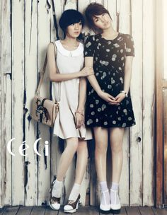 miss A in CeCi 2012 Jia and Suzy