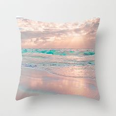 MORNING GLORY Throw Pillow by catspaws - $20.00