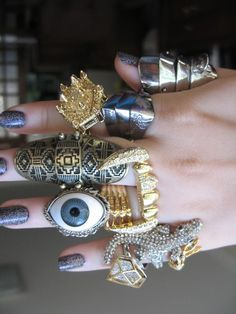 rings, silver, gold, jewellery, animals, bling
