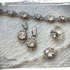 El joyero de Elena: Conjunto Novia cuatro piezas