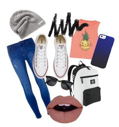"""""""Do you want to be slapped?"""" by retrochic394 ❤ liked on Polyvore featuring Billabong, Dorothy Perkins, adidas Originals and Converse"""