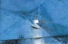 Lyonel Feininger, (unknown) on ArtStack #lyonel-feininger #art