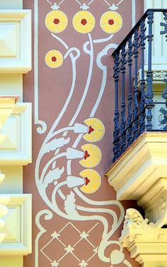 Barcelona - Consell de Cent 265  Modernisme   a Catalonia, #catalonia #catalunya  #catalonia/barcelona #catalonia/catalunya #artnouveau