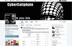 U.S. military command's Twitter account apparently hacked by ISIS