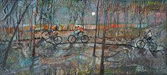 Janis Mennie 'Night Riders' — Beauly Gallery