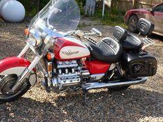 Honda Valkyrie, Custom Motorcycles, Biker, Vehicles, Ideas, Motorcycles, Motorbikes, Tricycle, Car