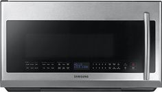 Samsung Over-the-Range Microwave Oven Stainless Steel (Silver) (Samsung cu. Over-the-Range Microwave SS) Microwave Oven Combo, Over Range Microwave, Microwave Hood, Microwave Drawer, Ranger, Large Family Meals, Stainless Steel Oven, Cool Kitchens, Future House