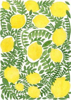 wildsunshine:society6.com/product/the-fresh-lemon_print