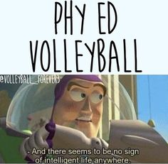 volleyball humor/ buzz lightyear