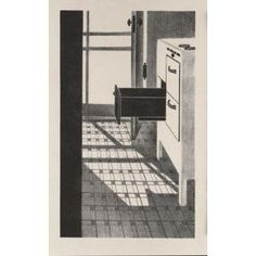 Coreen Mary Spellman, Sun on the Kitchen Floor, 1947, lithograph, Dallas Museum of Art, gift of Helen, Mick and Thomas Spellman