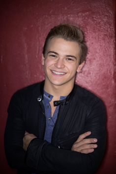 Singer Hunter Hayes poses for a portrait backstage at the Hunter Hayes' Tattoo Tour on October 28 2014 in New York City