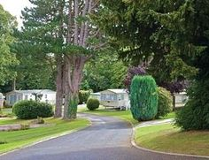This is a view of Woodlands Hall near to Ruthin in Denbighshire.  A lovely holiday park with static caravan accommodation in one of the most beautiful areas of North Wales.