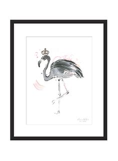 Her love for nature and animals is strongly present in her work. Flamingo Art, Art Prints, Artist, Nature, Design, Art Impressions, Naturaleza, Artists, Design Comics