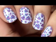 ----------What did I use for the manicure?---------- 1. Winstonia The Carnival Stamping plate * 2. Maybelline Color Show Ultra Violet 3. B.Loves Plates & Col...