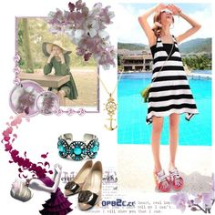 """summer-topb2c.cc"" by violet-w-miller on Polyvore"
