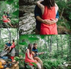Evan + Hannah: A Blue Ridge Parkway Engagement Session by Revival Photography www.revivalphotography.com