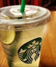 Lemon Lime Refresher! Recipe here: http://starbuckssecretmenu.net/starbucks-secret-menu-lemon-lime-refresher/