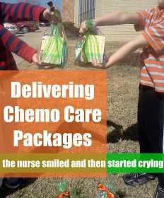 """Pennies of Time: """"Penny of Time"""" Adventure: Delivering the Chemo Care Packages. After making chemo care packages in a previous """"penny of time,"""" we took a few minutes the next afternoon to deliver them to an oncology office. The nurse's emotional response Service Projects For Kids, Community Service Projects, Kits For Kids, Service Ideas, Chemo Care Package, Relief Society, Care Packages, Helping Others, Teaching Kids"""