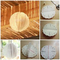 Paper Doilies Decoration: