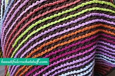 Free Crochet Blanket Pattern | Beautiful Crochet Stuff