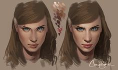 Skin Demo by Charlie-Bowater on deviantART ★ Find more at http://www.pinterest.com/competing/
