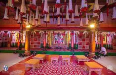 How beautiful is this mandapam with a touch of traditionalism ❤️ . Photo by . Wedding Groom, Farm Wedding, Wedding Blog, Wedding Couples, Boho Wedding, Wedding Reception, Wedding Planner, Wedding Theme Design, Wedding Details