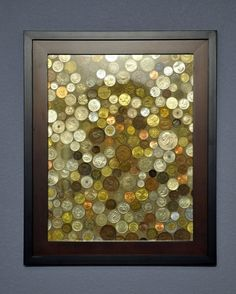 what to do with all those foreign coins youve saved. - sublime decor