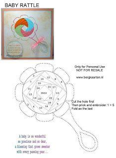 Irisvouwen: Baby rattle