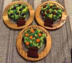 Resultado de imagen para arboles de telar con pompones