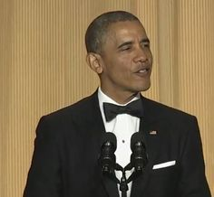 Obama Slays Fox News and the Koch Brothers With One Joke at White House Correspondents Dinner o~o