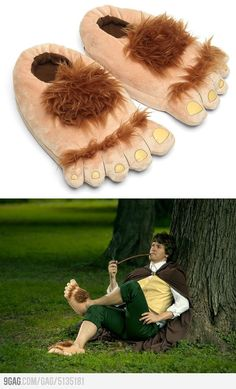 Plush Halfling Slippers
