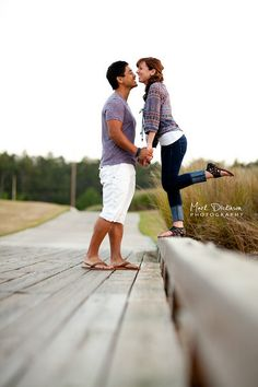 engagement shoot. perfect pose for a short person like me!