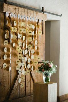 Sitzordnung -> auch mit Baumscheiben oder Lebkuchenherzen denkbar