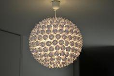 Squeaky Swing: DIY: Papierlampe
