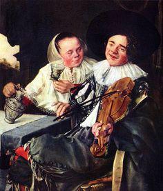 La alegre compañía. Judith Leyster. Musée du Louvre (París, Francia)