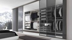 Walk In Closet Glass Doors Designs Ideas