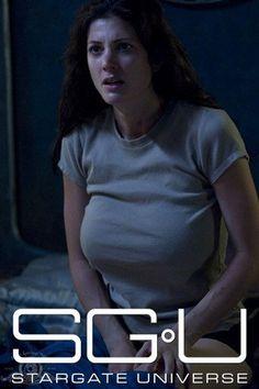 Lt. Vanessa James - Julie Benson #SGU Great Tv Shows, Old Tv Shows, Julia Benson, Star Trek Characters, Female Characters, Julie Benz, Stargate Universe, Sci Fi Tv, Sci Fi Series