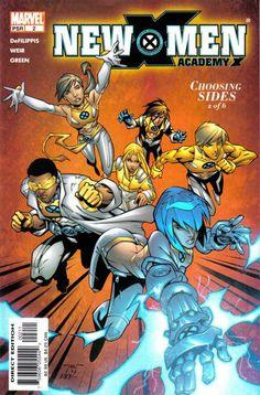 New X-Men: Academy X # 2 by Randy Green & Rick Ketcham