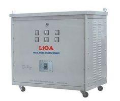 Biến áp Lioa dùng để đổi điện từ380V ra 220V/200V cho các thiết bị điện có…