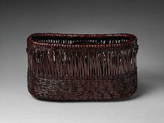 Growing up on a farm, Katsushiro Sōhō watched his father produce simple baskets for the local people during the winter months. He later lived with the bamboo craftsman Kikuchi Yoshii (active mid-twentieth century), who taught him the basics of basketry, before studying with Yagisawa Keizō (1927–2006), an acknowledged bamboo artisan