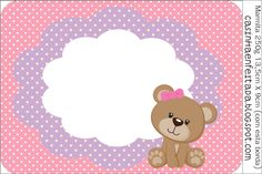 kit festa ursinha rosa grátis para imprimir Tags Rosa, Imprimibles Baby Shower, Sofia Party, Baby Shawer, Bear Party, Baby Boy Shower, Cute Pictures, Party Themes, Happy Birthday