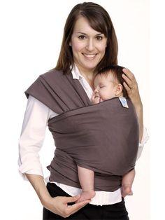 39c6562b5e1 MOBY Wrap Modern in Slate Baby Wearing