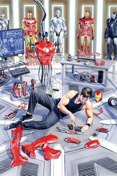 Iron Man by Mike Mayhew.