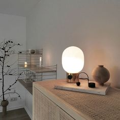 3 tips to help style your home with the JWDA lamp from MENU Lamp Design, Lighting Design, Metal Table Lamps, Menu Design, Nordic Style, Oil Lamps, Polished Brass, Simple Designs, Decorating Your Home