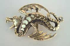 SOLD The Large Dragon is one of the most popular brass buckles with Carl's many fans. If I get  more they will go quickly.