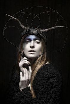 Headdress: Candice Angélini www.candiceangeli... Rebekka ruétz 's Lookbook Photo by Sylwia Makris